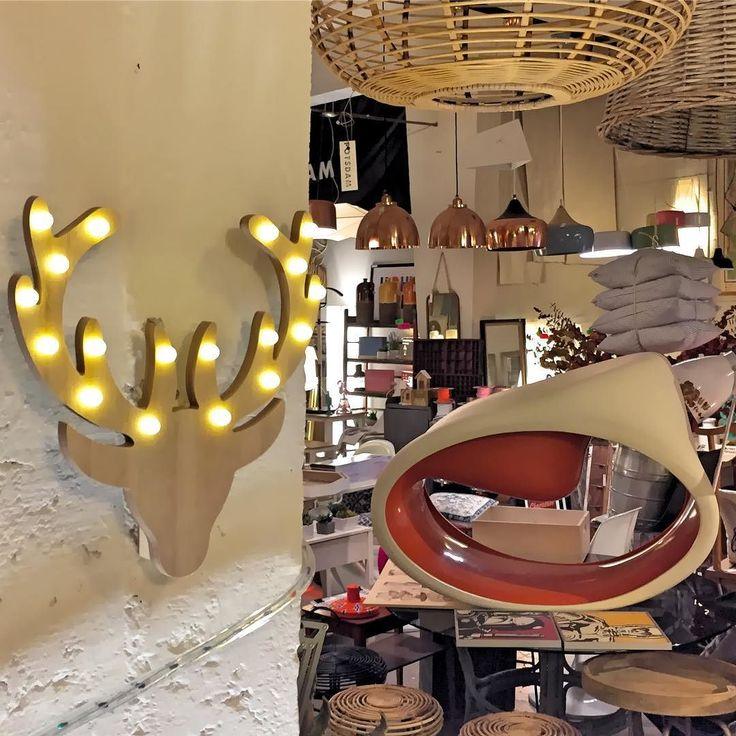Cabeza de ciervo de madera con leds de 25x25 cm potsdam decoracion pinterest potsdam - Cabeza de ciervo decoracion ...