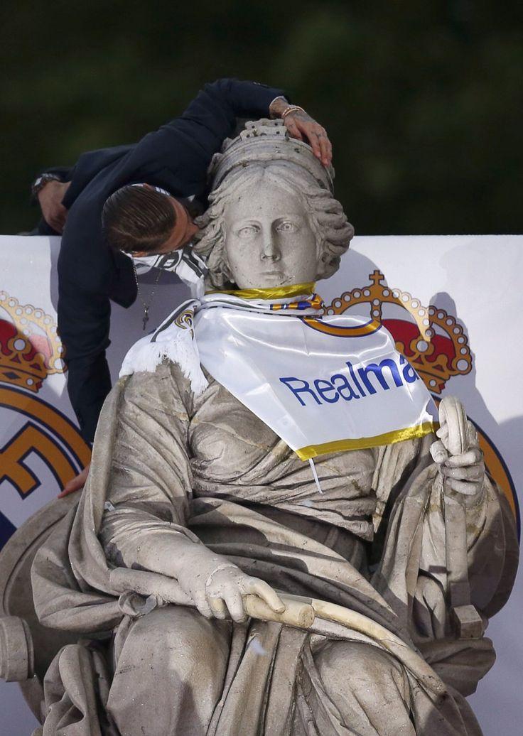 Sergio Ramos Cibeles Real Madrid la undecima