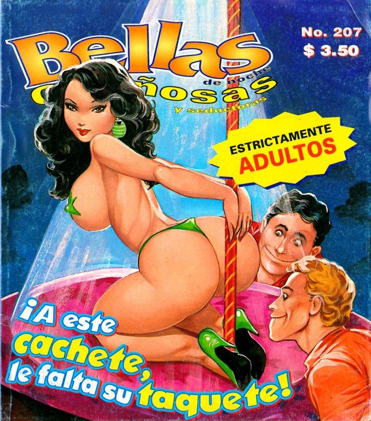 ¡Historietas Perversas!: Bellas De Noche. No. 207