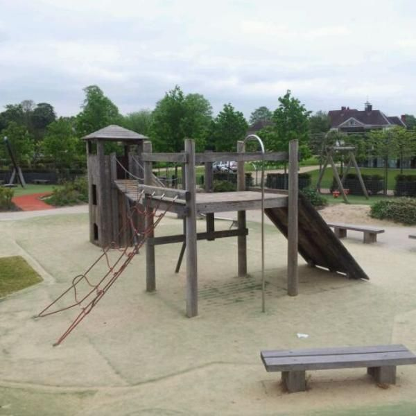 Photo taken at Priory Park by Nick A. on 5/18/2012