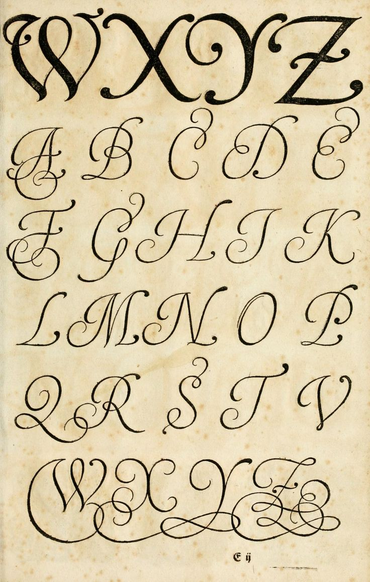 17th Century German Book On The Art Of Writing: The Proper Art Of Writing,