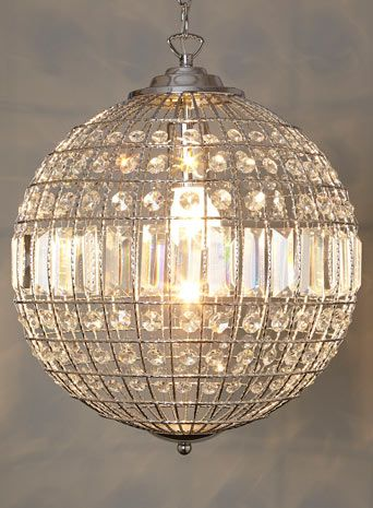 Ursula Small Crystal Ball Pendant Lighting Pinterest