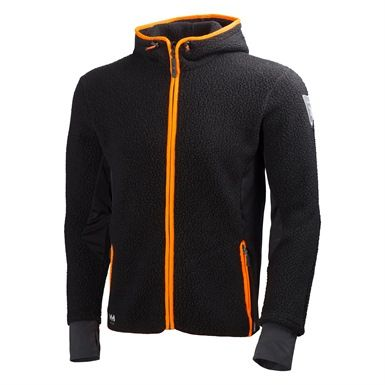 Helly Hansen's 72269 Mjølnir Hood Fleece Jacket is perfect for keeping you comfortable whilst outdoors in the cold. It's made from a Polartec Powerstretch fabric with a double layer, drawstring adjustable hood.