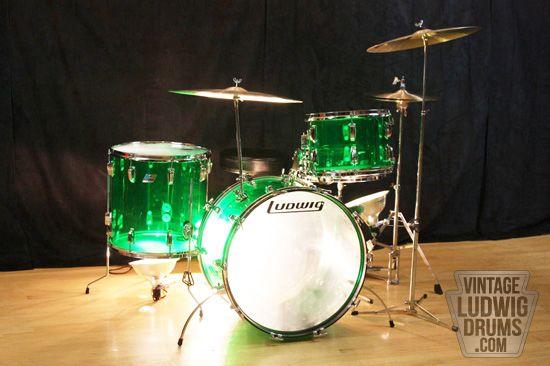 Buy Vintage Ludwig Drums | Ludwig 70's drum kits for sale