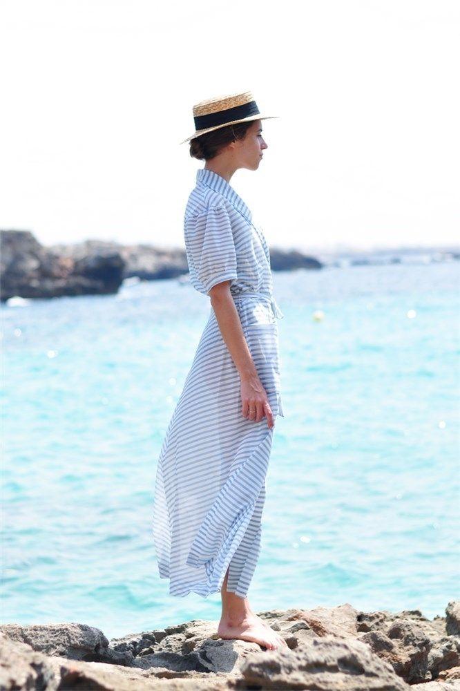 Look de Dans Vogue con canotier