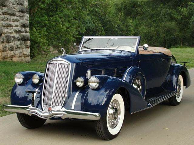 Pierce Arrow 1602 Salon Convertible Coupe Roadster 1936 Cars