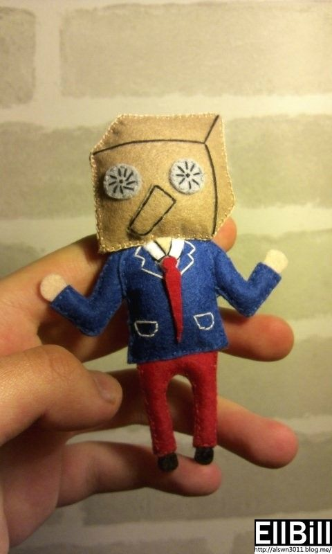 ●EllBill Miniature Felt craft_Primary ●Creator: EllBill (KimMinju) ●blog: alswn3011.blog.me/  ●E-mail: alswn3011@naver.com