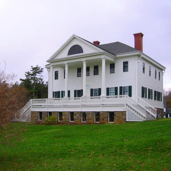 Uniacke House, Mount Uniacke, Nova Scotia.  Inspiration for Sabbath Hollow.