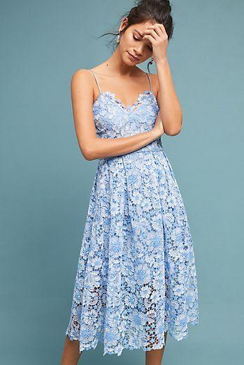2ff12cf2a8f7 Azora Lace Dress   Vogue   Dresses, Anthropologie clothing, Lace Dress