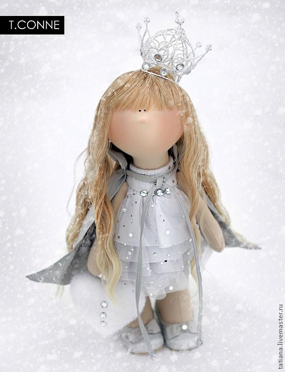 Коллекционные куклы ручной работы. Ярмарка Мастеров - ручная работа Winter Queen. Handmade.