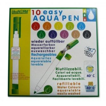 Färgpennor med påfyllning