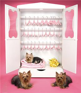 My daughter wants us to get this to store our dogs' apparel. I admit, it might look better than the current heap o' stuff!