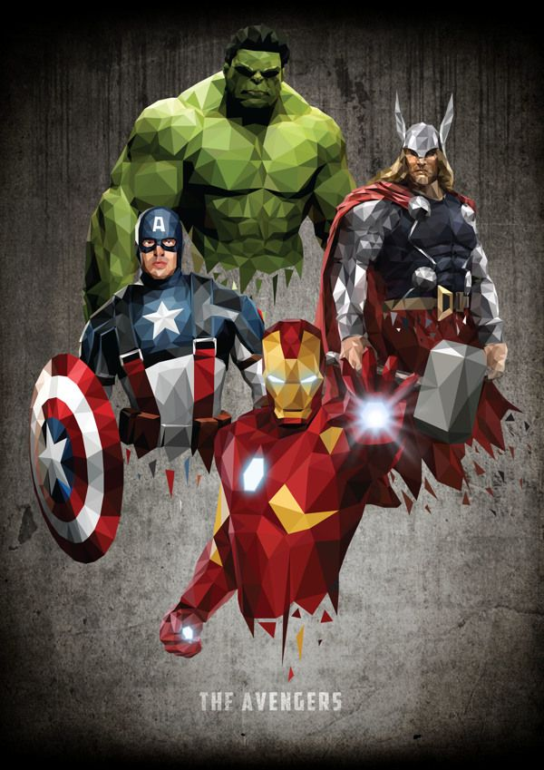 Vectors Assemble by William Teal, via Behance