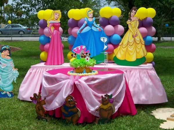 princess party decorations | princess Decorations.jpg provided by Partyzon Party Rental hollywood ...