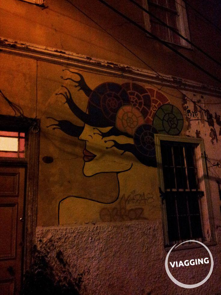 Murales di Valparaiso (Cile) Scopri di più: http://viagging.it/cile-streetart-a-valparaiso/