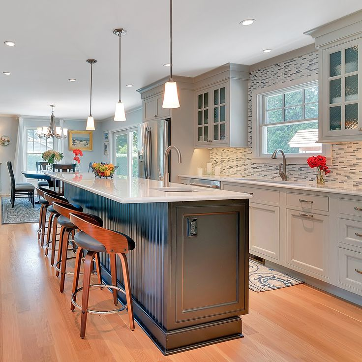 Location Is Everything In Real Estate   And The Kitchen Is The Prime  Entertaining Spot In