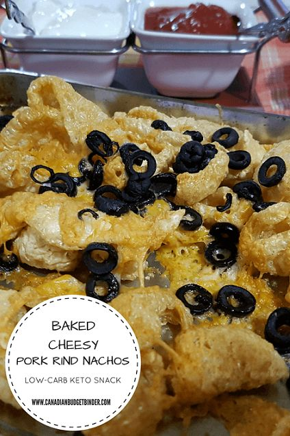 You should try these Cheesy Pork Rind Nachos if you want to add some CRUNCH to your day without all the CARBS!!! Delish! Recipe>>>> http://bit.ly/2q5z4AV Level: SO EASY!! #Lowcarb #ketosnack