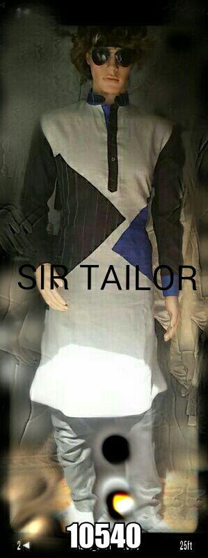 mens pathani designer and elegant look from SIR TAILOR. (chauta pull near sai belt behind bus stop surat 395003). Mr. amin - 9377859780