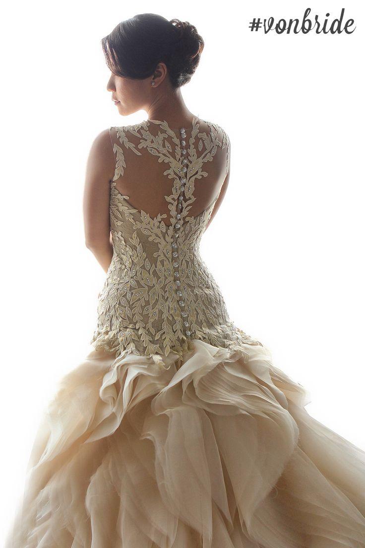 Custom Made Bridal Gowns By Manila Based Filipino Designer Von Lazaro We Cater To Local International Brides Follow Vonlazaro On Instagram Twitter