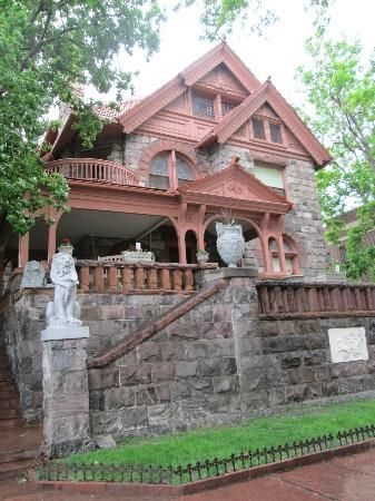 """Molly Brown House Museum - Denver - This antique-filled Victorian house was the home of """"the Unsinkable"""" Molly Brown, a famous survivor of the Titanic."""