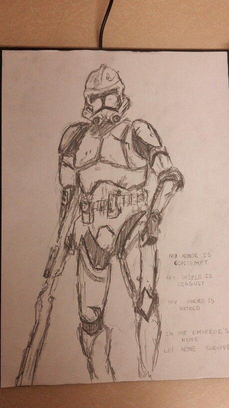 Stormtrooper #WW #Sketch