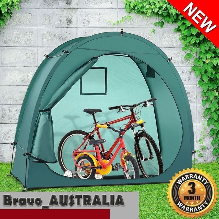 Bike Cave Tidy Tent Multi-Functional Bicycle Storage Solution Waterproof Camping