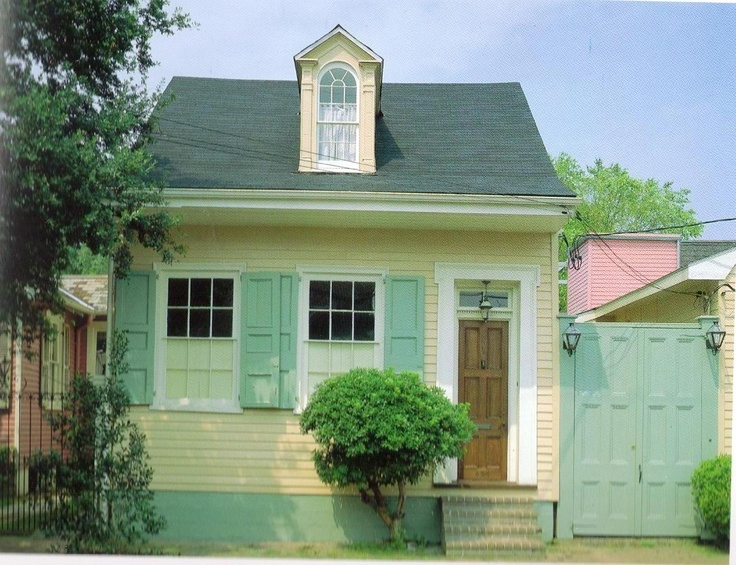 17 best images about new orleans cottages on pinterest for Cajun cottages