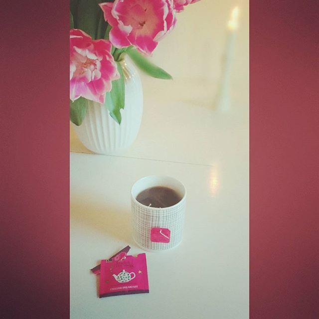 #englishteashop#anicecupoftea#englishbreakfast#tealover#økologisk #engodstartpådagen#hygge#søndag#kamilleshop