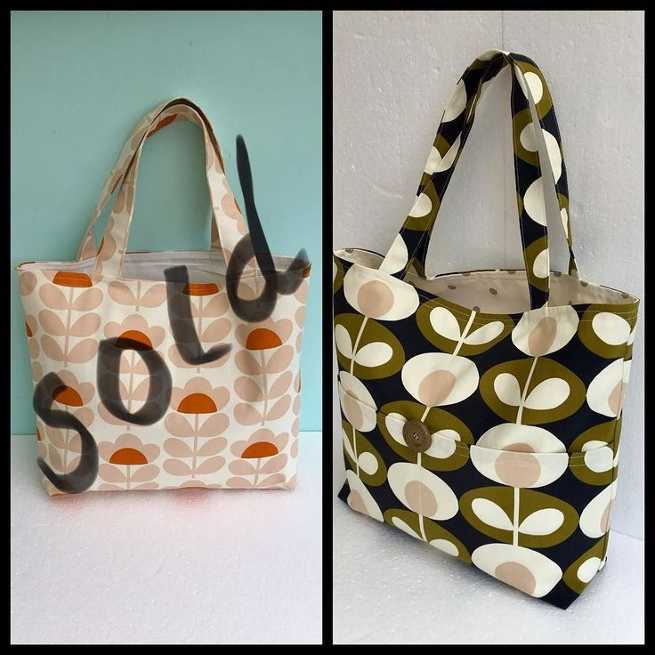 Last Orla Kiely fabric tote available over in the shop with an amazing 30% off in the sale - be quick  . . #orlakielytote #orlakielybag #orlakielyfabricbag #orlakielyshopper