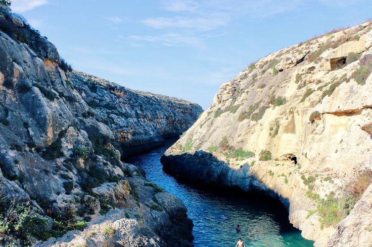 Wied il-Ghasri, a hidden gem of Gozo