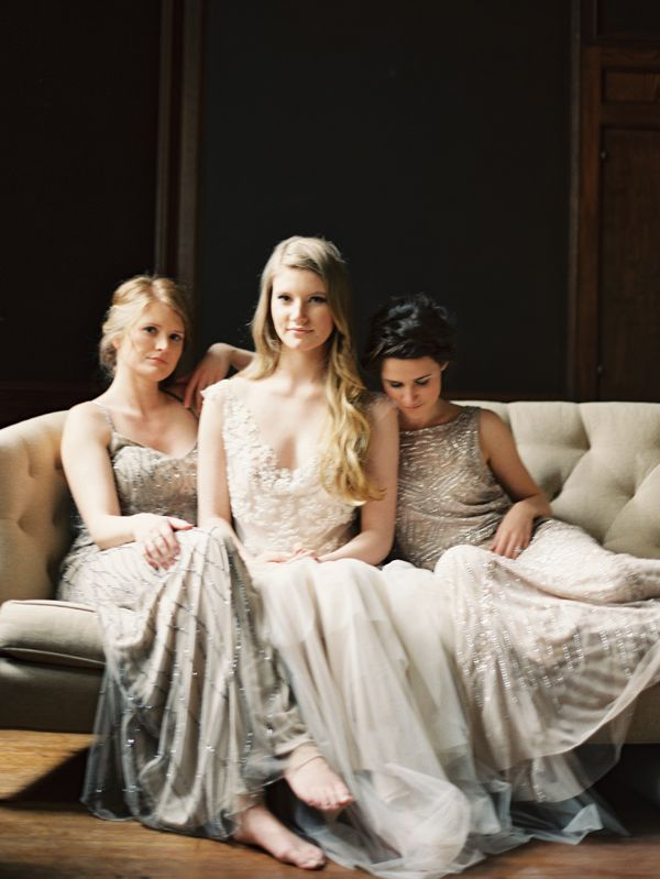 Springtime Maidens via oncewed.com from @Teresa Renaud Reynolds Hitchner @Whenwillyou Au