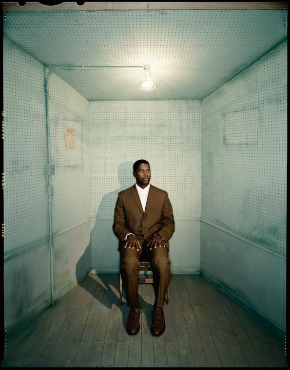 Denzel Washington by Dan Winters.