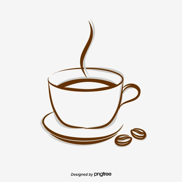 Vector Cup Of Coffee Coffee Coffee Vector Coffee Png And Vector