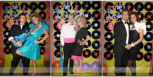 80's prom.. I DEFINATLY have to incorporate some  of these things!!!   keep in mind the inflatable electric guitar!!! love it!!!