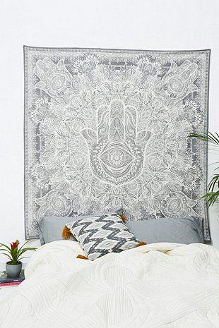Wandbehang mit Hamsa-Hand