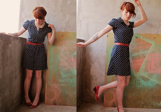 With a cherry on top (by Darcy Allan) http://lookbook.nu/look/2007828-With-a-cherry-on-top