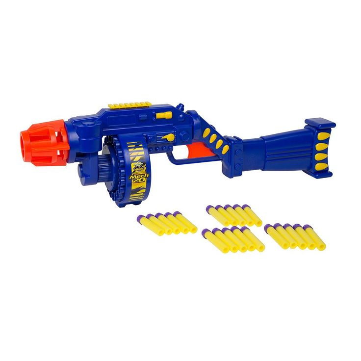 Air Warriors Mech 20 Blaster by Buzz Bee, Multicolor