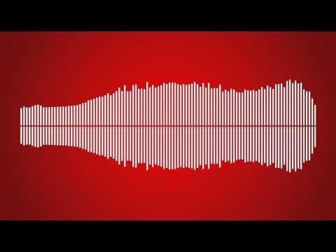 波形がボトル型をした、コカ・コーラ100周年記念ソング「The Birthday Bottle Song」 | mifdesign_antenna // soundcloud embed