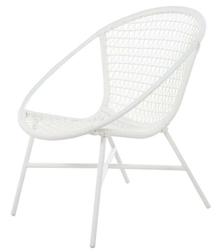 Varese White - Petite Retreat  Small Balcony Furniture.  Made from aluminium and polywicker.  Get the look without the maintenance!  Cane /Rattan style chair. Made from aluminium and polywicker.  Get the white wicker look without the maintenance! Available from Petite Retreat Outdoor Furniture Sydney, Australia #whitewickerchair