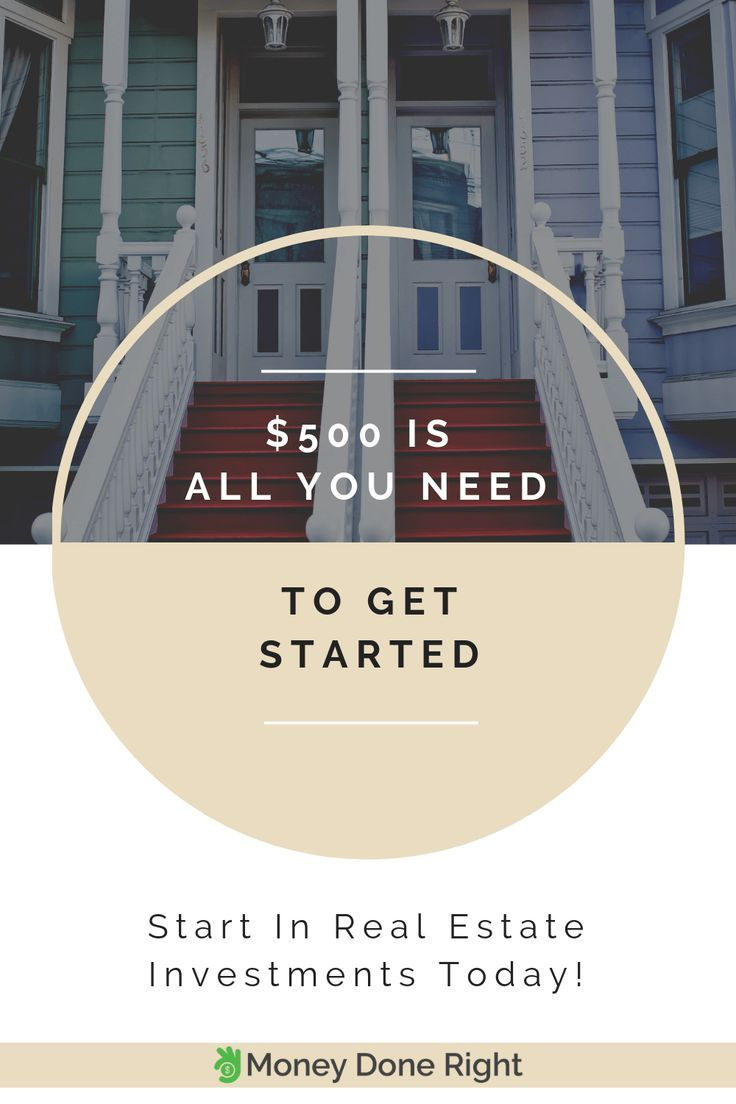 How To Invest In Real Estate With 500 1 000 Real Estate