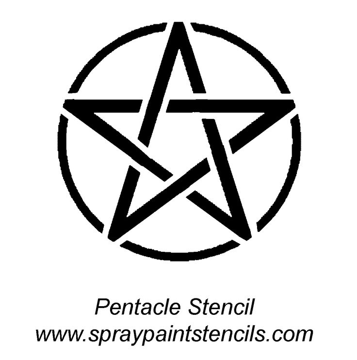 pentacle 1 200 1 211 pixels stencil pinterest stencils. Black Bedroom Furniture Sets. Home Design Ideas