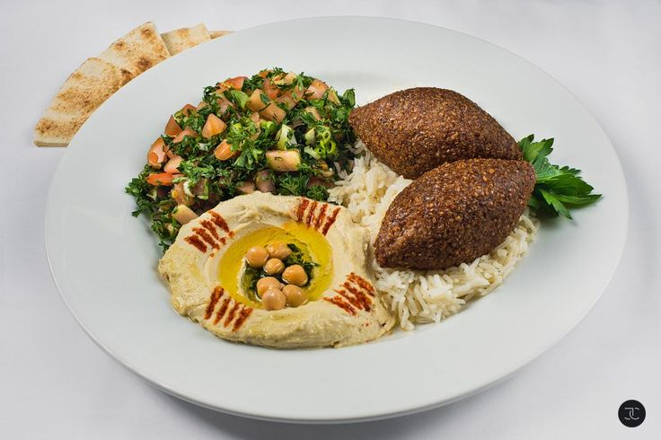 Authentic Lebanese Food ~ Kibbeh Plate ~ You can share, but would you? Do Share the Image though.