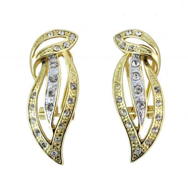 BETTA Venite a visitarci per visualizzare altri orecchini super fashion! :)  #irisbijoux #fashion #jewelry #jewel #gold #strass #earrings
