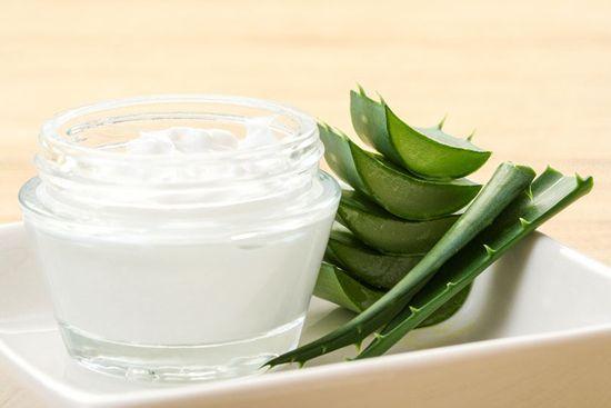 Aloe Vera Creme gegen Pickel und Akne selber machen