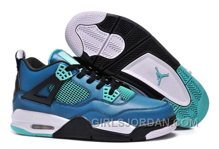 newest cabc0 7a4c8 ... mens air jordan 4 teal black cement grey retro tiffany paypal Air  Jordan 4 Retro Pinterest ...
