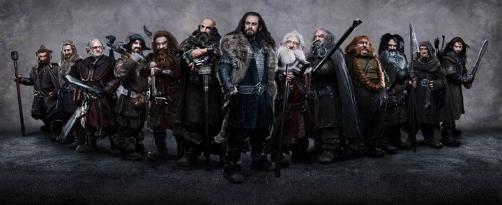 Dwarves. The Hobbit: An Unexpected Journey
