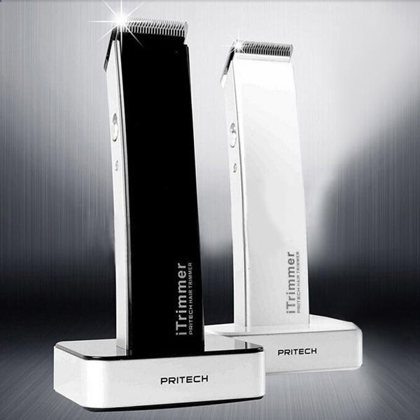 Hair Clippers - Pritech Super Slim Electric Hair Clipper Trimmer Barber Tool Razor   Charge Base #PRITECH