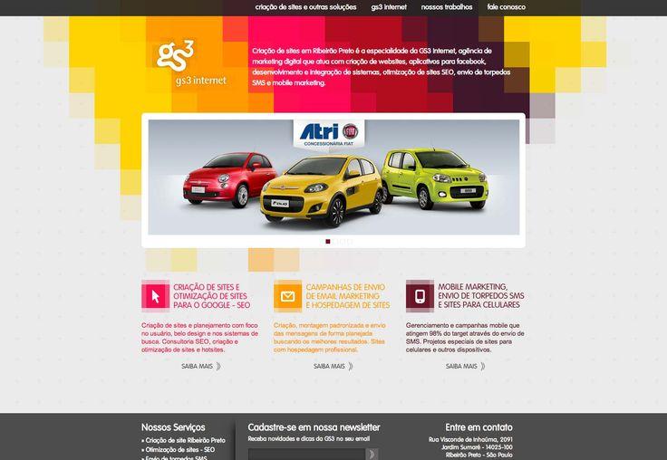 Diverse patterns in site design photo #WebDesignArizona #webdesign #Website