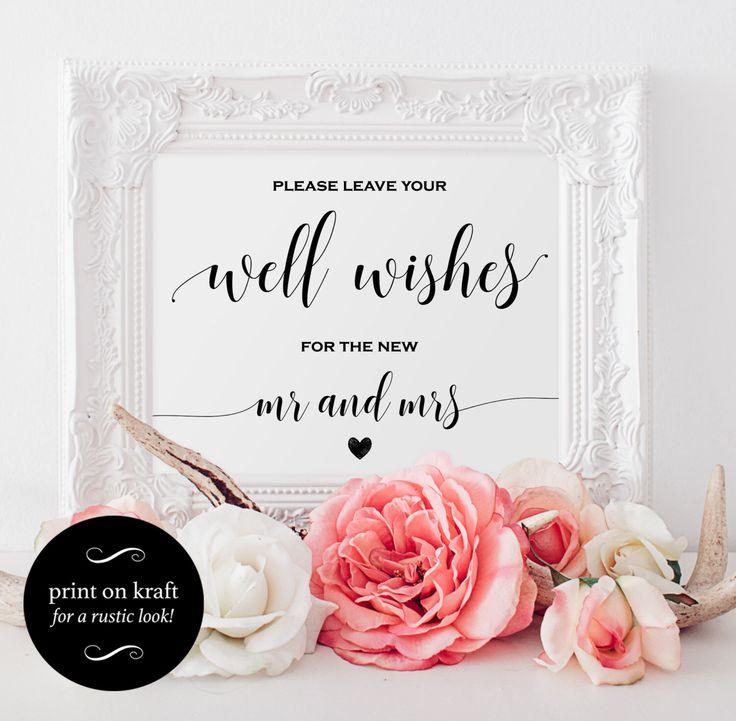 wishing well wedding wishing well card wedding wishing well wedding printable wishing well