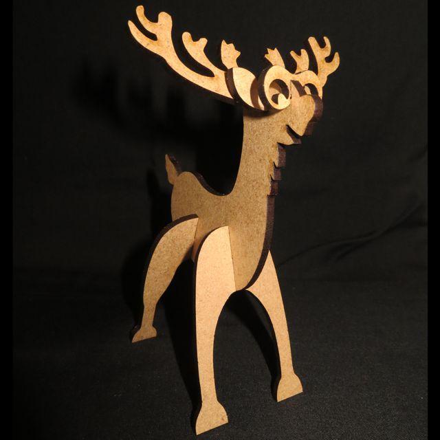 Christmas : Reindeer Table Decoration